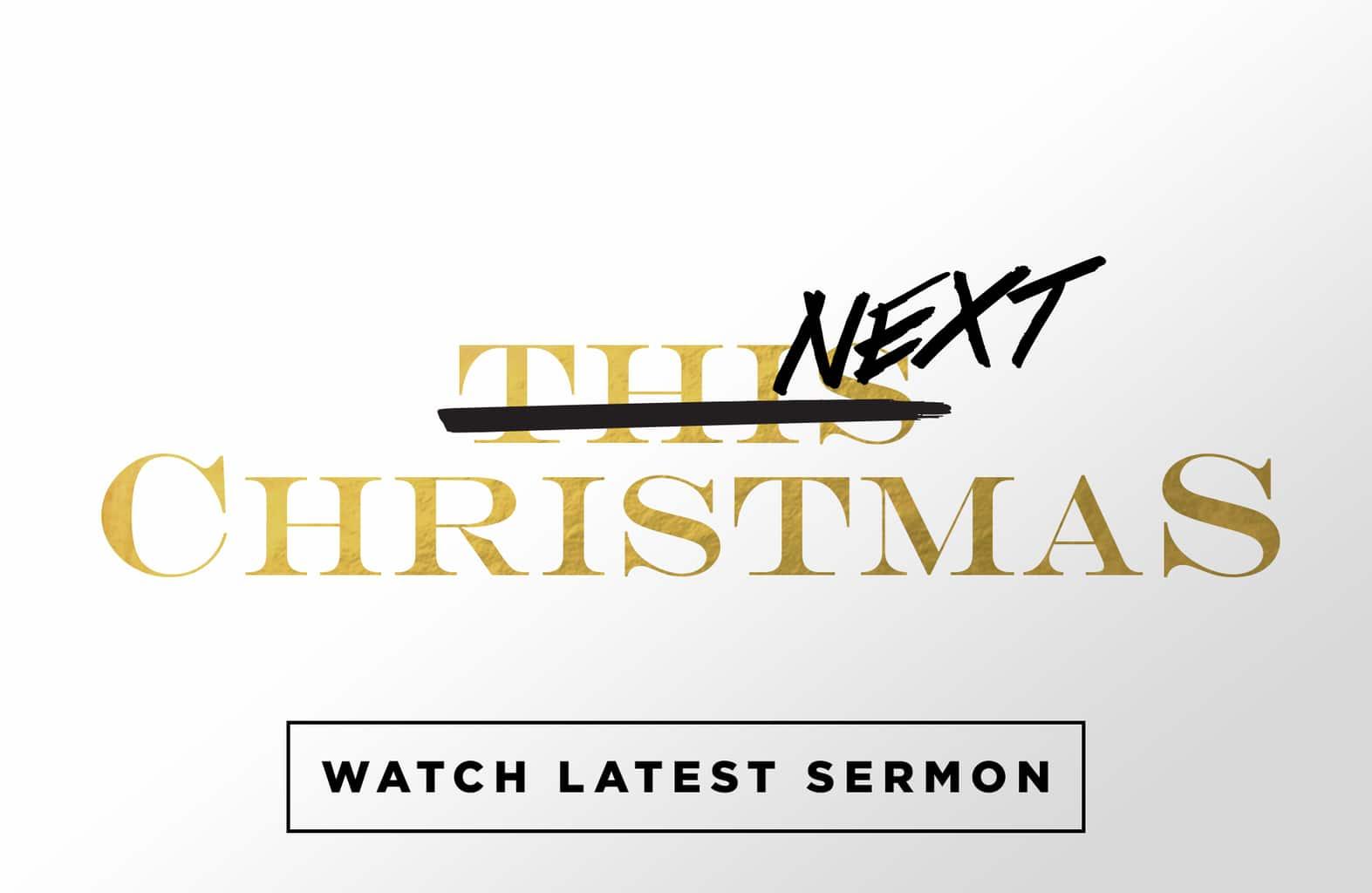 Watch Latest Sermon