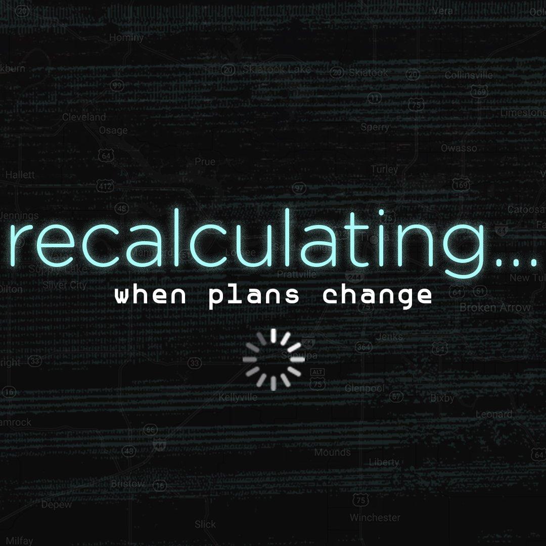 Recalculating…