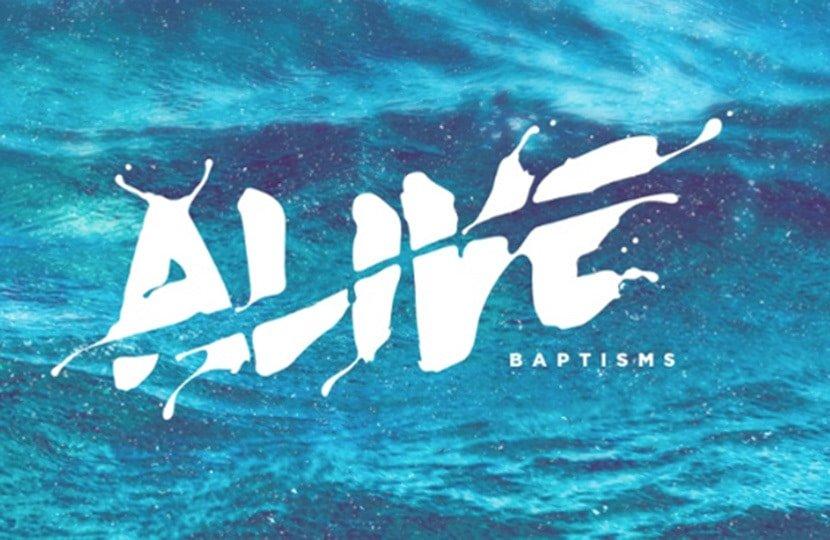 Alive Baptism